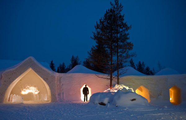 ADVENTURES AT THE POLAR CIRCLE, FINLAND